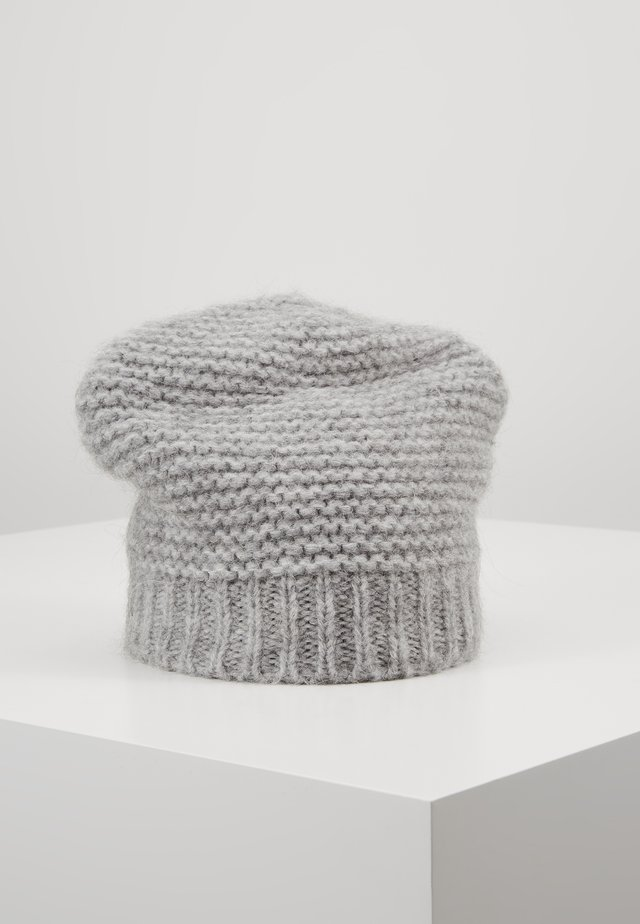 MIX BEANIE - Czapka - light grey melange