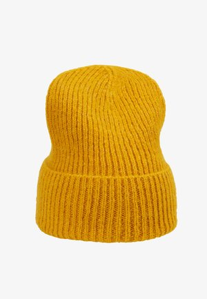JADIA MIX BEANIE - Mütze - golden yellow
