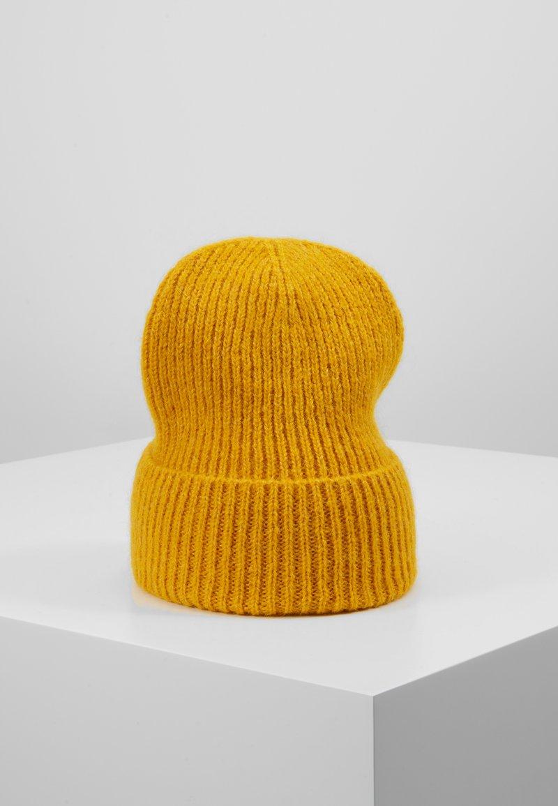 Becksöndergaard - JADIA MIX BEANIE - Čepice - golden yellow