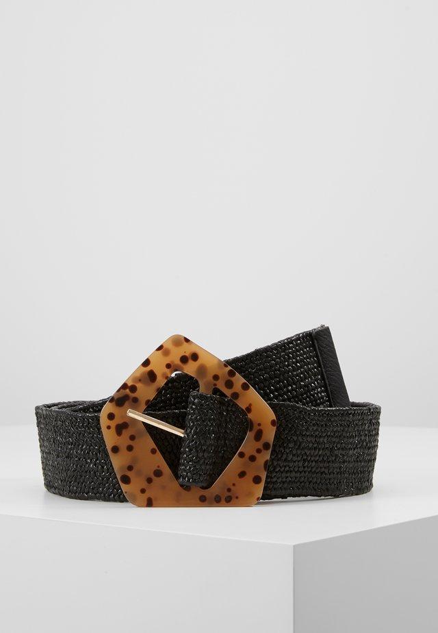 ZIZ BELT - Belt - black