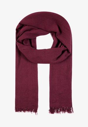 SOLID ILONA - Scarf - burgundy