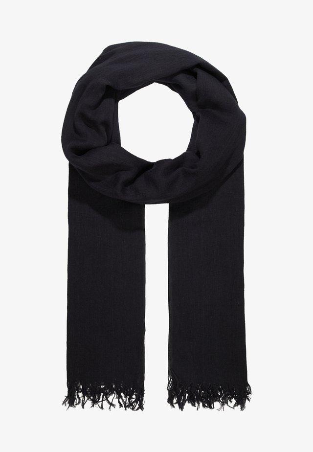 SOLID ILONA - Sjal / Tørklæder - black