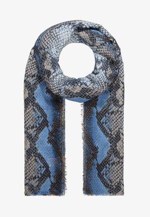 SIGRID SNAKE SCARF - Sjaal - blue
