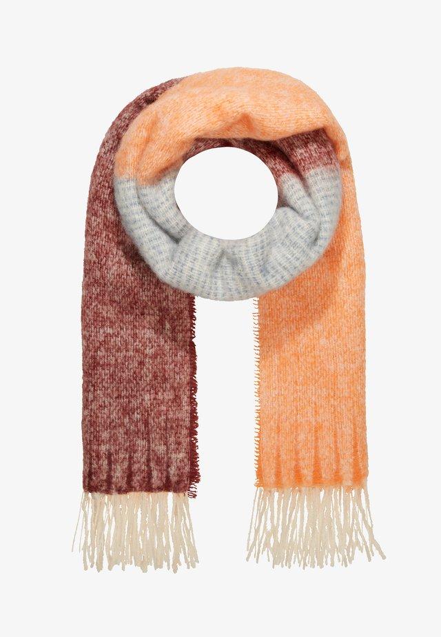 INGRID SCARF - Huivi - dusty orange