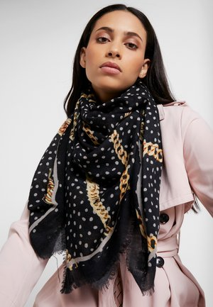 HARLY SCARF - Foulard - black