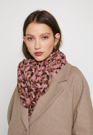 LOON CIA SCARF - Šála - adobe rose