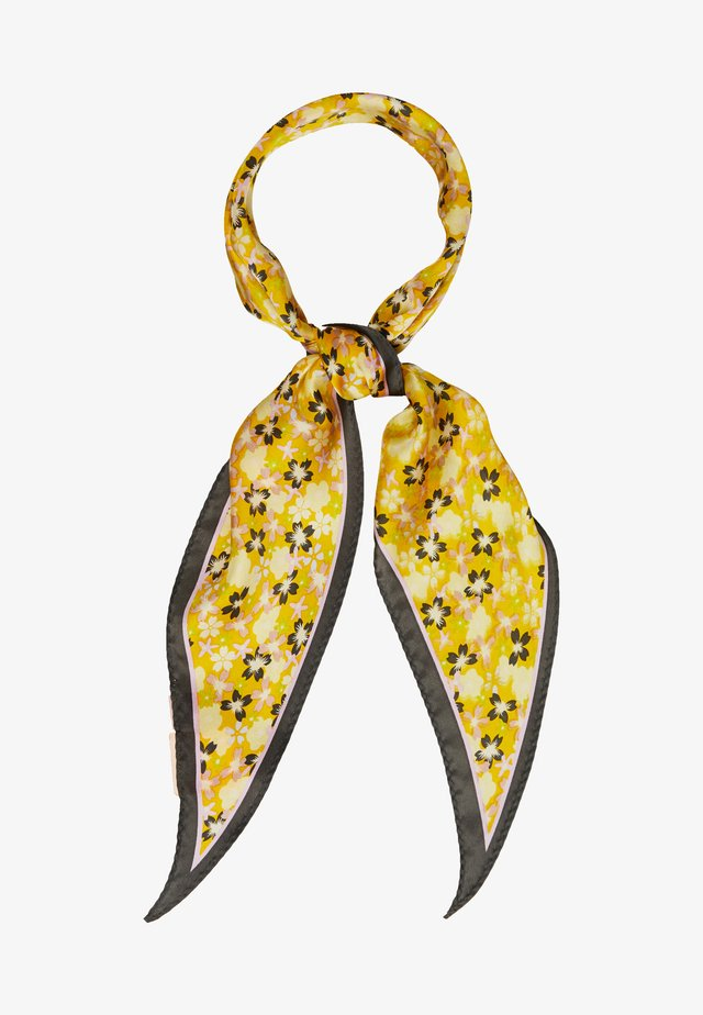 NIGHTIN SIRU SCARF - Skjerf - yellow iris