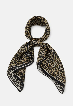 LEOLAR SCARF - Šátek - brownish