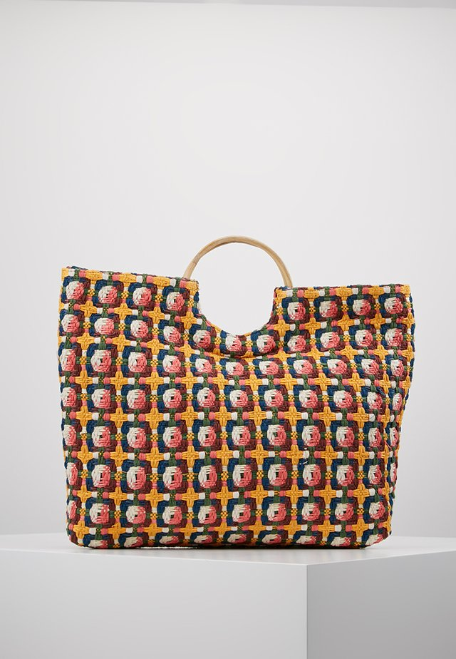 BARRY - Shopping Bag - yellow