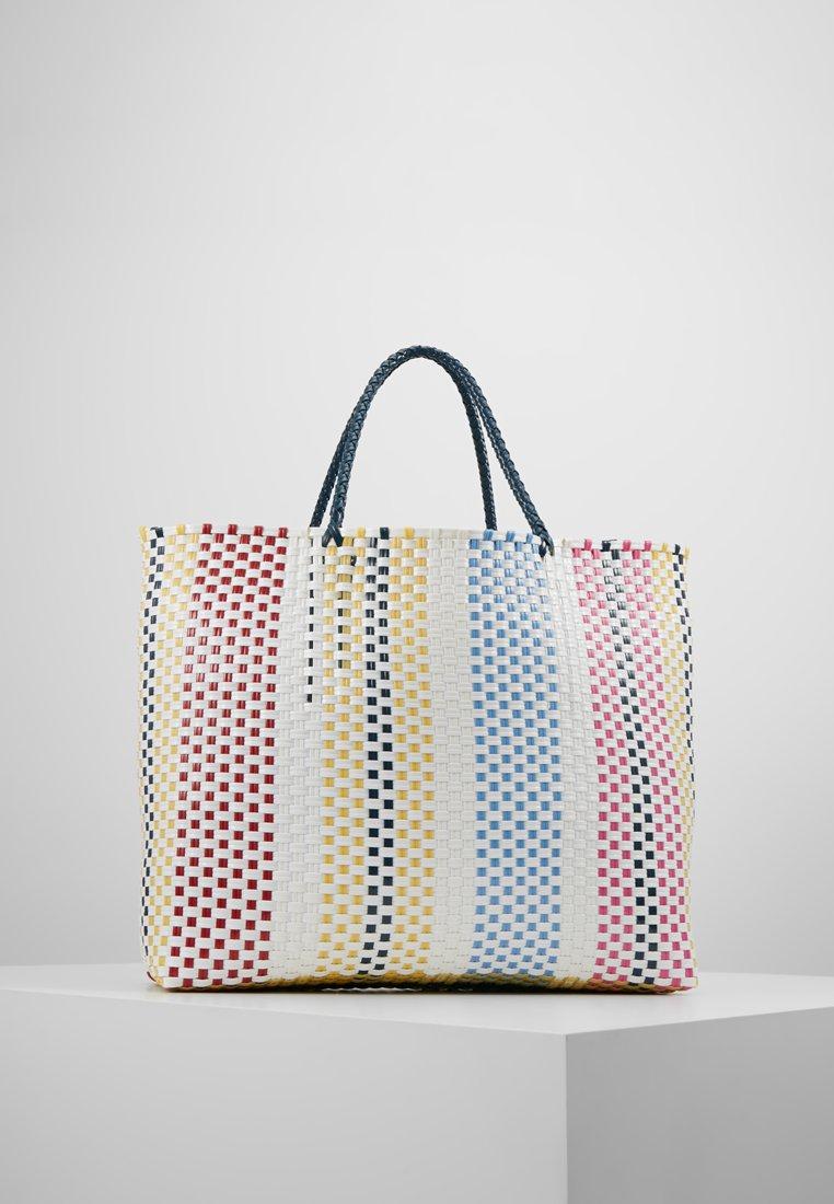 Becksöndergaard - SANTI TOTE - Shopping Bag - white