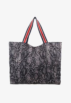 SNAKEY FOLDABLE BAG - Tote bag - grey