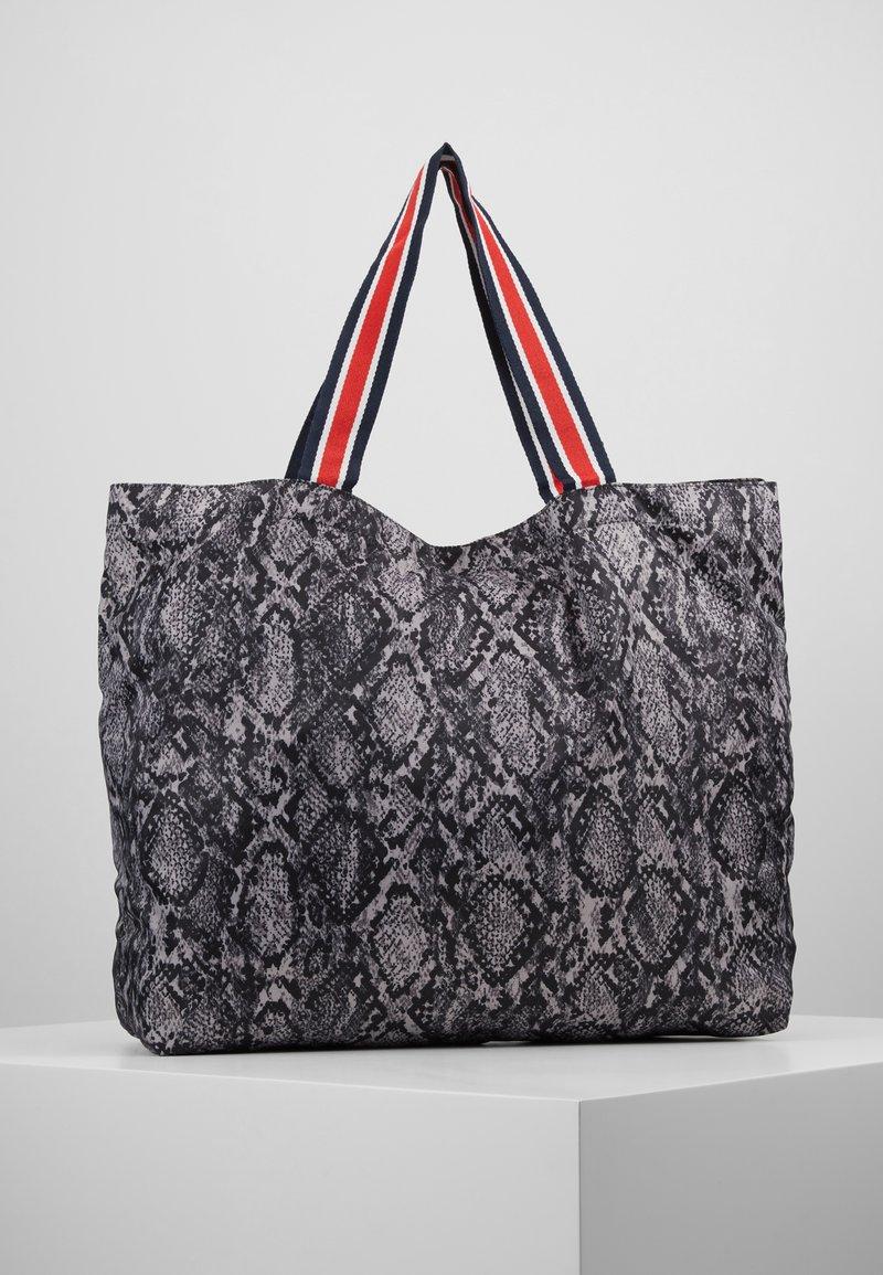 Becksöndergaard - SNAKEY FOLDABLE BAG - Bolso shopping - grey