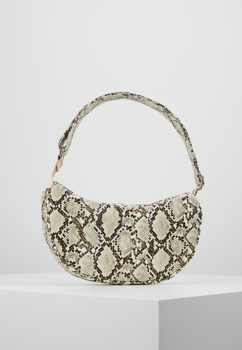 Becksöndergaard - SNAKE MOON BAG - Handbag - beige
