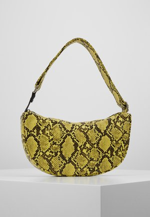 SNAKE MOON BAG - Sac à main - yellow