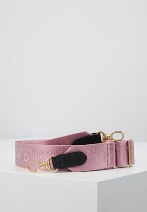 BECKI LOGO STRAP - Övrigt - pink lavender