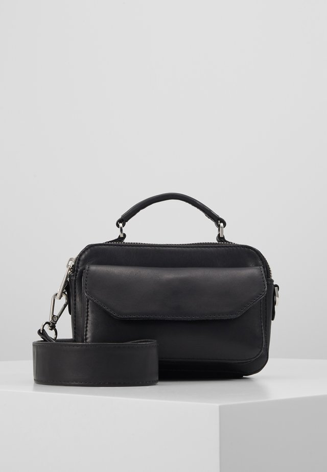 VEG MARY BAG - Torba na ramię - black