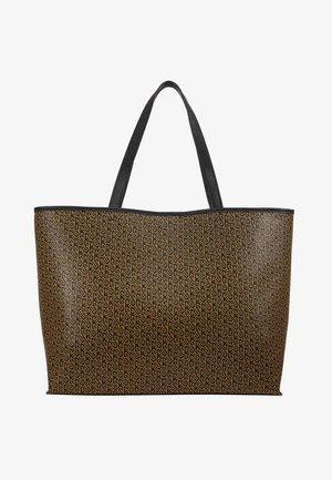 BESRA TONAL LOTTA BAG - Shopping bag - black