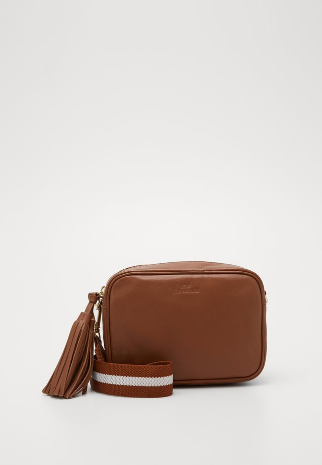 LULLO RUA - Torba na ramię - brownie