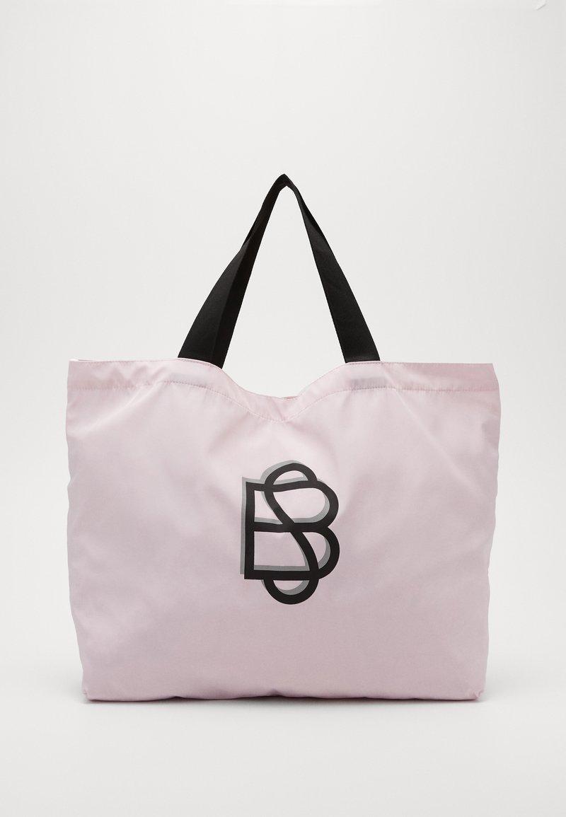 Becksöndergaard - SOLID FOLDABLE BAG - Tote bag - crystal pink