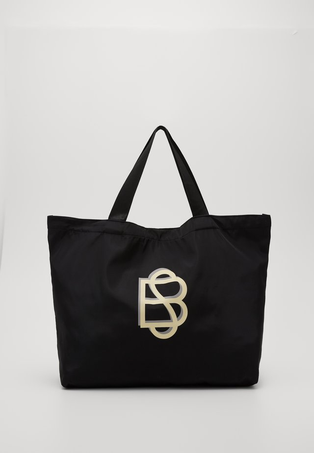 SOLID FOLDABLE BAG - Shopping bags - black