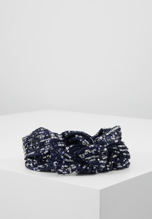 SEQUINS HAIRBAND - Hårstyling-accessories - blue