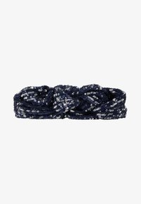 Becksöndergaard - SEQUINS HAIRBAND - Hair styling accessory - blue - 3