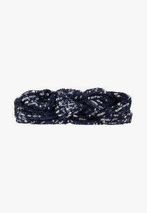 SEQUINS HAIRBAND - Hair Styling Accessory - blue