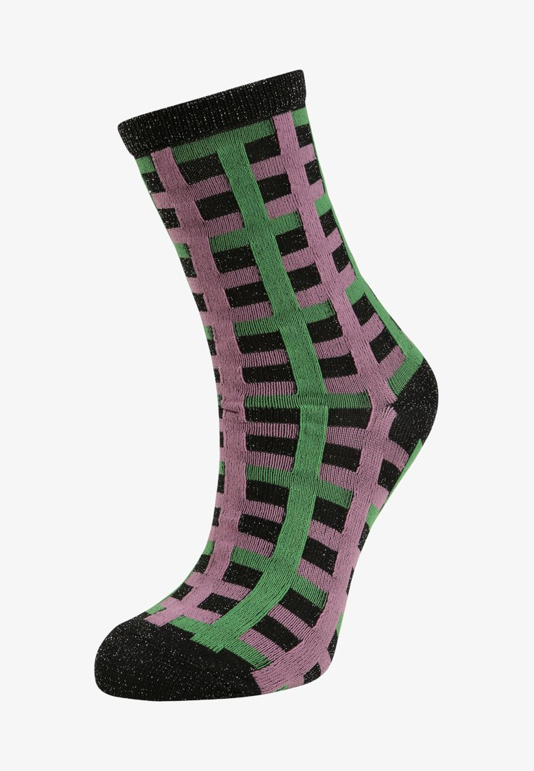 Becksöndergaard - DEAN CHECK - Socks - grass green