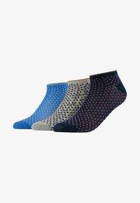 Becksöndergaard - GLITTER DOLLIE MIX 3 PACK - Ponožky - grey/sky/pink - 1