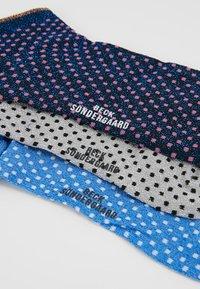 Becksöndergaard - GLITTER DOLLIE MIX 3 PACK - Ponožky - grey/sky/pink - 2