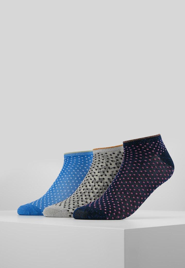 Becksöndergaard - GLITTER DOLLIE MIX 3 PACK - Ponožky - grey/sky/pink