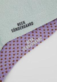 Becksöndergaard - DINA SOLID 2 PACK - Sokken - silt green/aleutian - 2