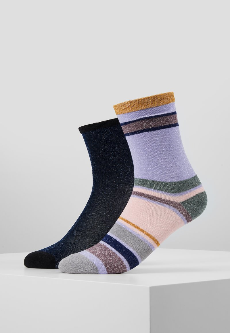 Becksöndergaard - DINA SOLID ROSELLA DALEA SOCK 2 PACK - Socken - blue/purple