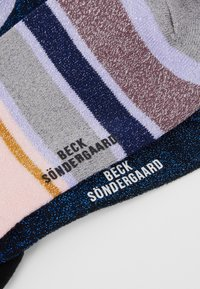 Becksöndergaard - DINA SOLID ROSELLA DALEA SOCK 2 PACK - Socken - blue/purple - 2