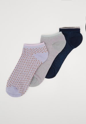 DOLLIE DOT 3 PACK - Sokker - silver gray/aleutian/medieval blue