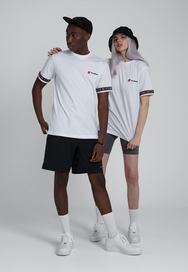 TRAMANTANA - T-shirt imprimé - white
