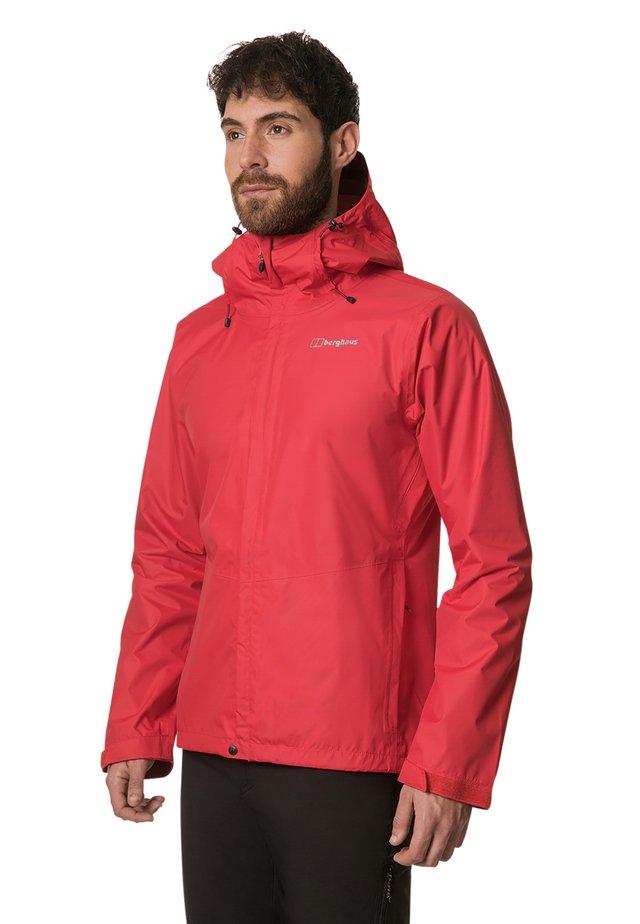 DELUGE  - Waterproof jacket - red
