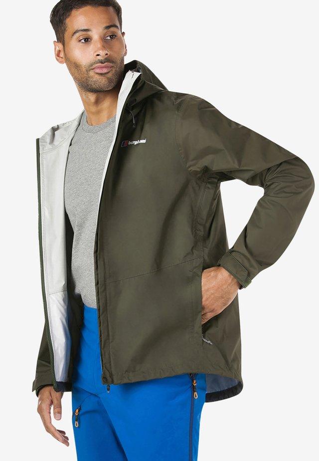 DELUGE  - Waterproof jacket - green