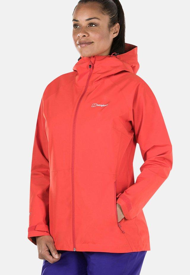 PACLITE 2.0 SHELL - Waterproof jacket - red