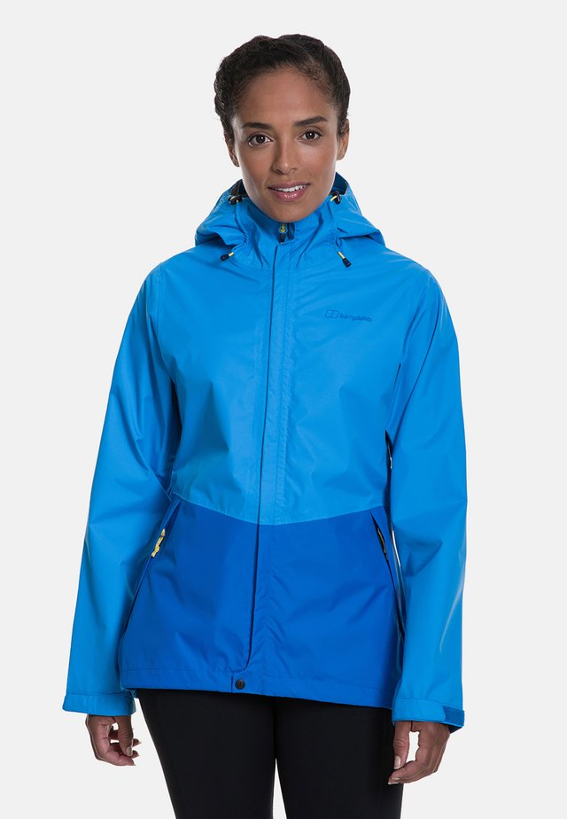 DELUGE VENTED  - Waterproof jacket - blue
