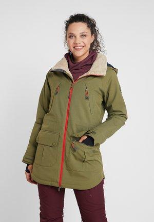 PROWESS - Snowboardová bunda - martini olive