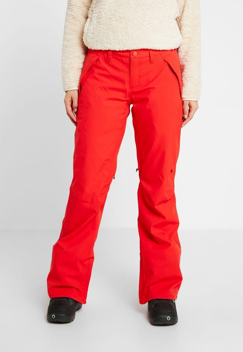 Burton - SOCIETY - Pantaloni da neve - flame scarlet