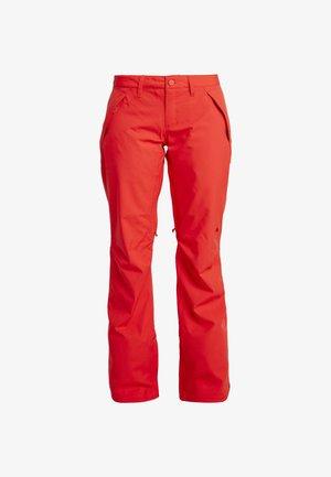 SOCIETY - Pantaloni da neve - flame scarlet
