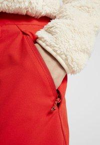 Burton - SOCIETY - Zimní kalhoty - flame scarlet - 3