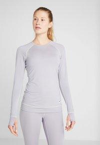 Burton - LIGHTWEIGHT CREW - Funkční triko - lilac gray - 0
