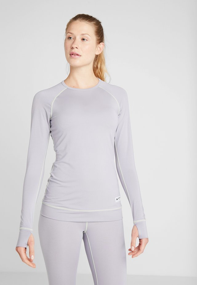 LIGHTWEIGHT CREW - Treningsskjorter - lilac gray
