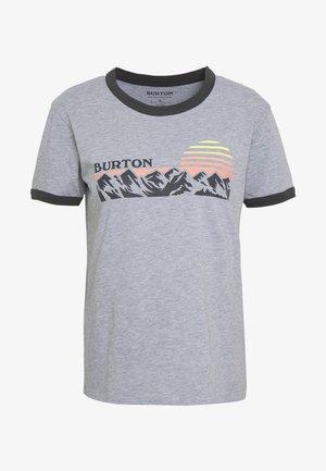 WOMENS TIMKEY SHORT SLEEVE - Print T-shirt - gray heather
