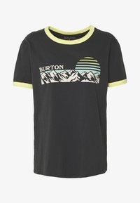 Burton - WOMENS TIMKEY SHORT SLEEVE - Print T-shirt - phantom - 3