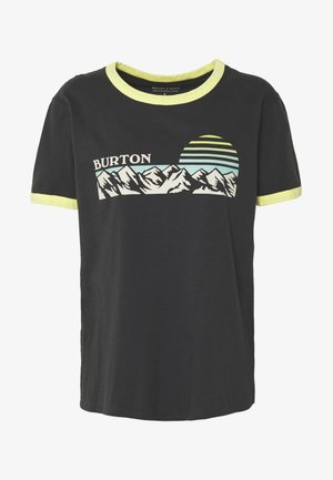 WOMENS TIMKEY SHORT SLEEVE - T-shirts med print - phantom
