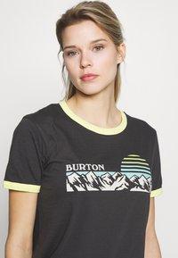 Burton - WOMENS TIMKEY SHORT SLEEVE - Print T-shirt - phantom - 4